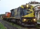 Transporte de locomotiva EIF-1000 para a CSN (Companhia Siderúrgica Nacional)