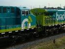 Transporte de locomotivas AC44i para a Brado Logística
