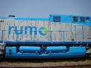 Transporte de locomotivas AC44i para a Rumo Logística