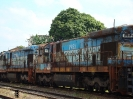 Transporte de locomotivas C30-7 e B36-7 para a PRSX (Progress Rail Services)