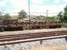 Transportes internos e trens de serviço da MRS Logística