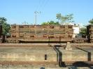 Transporte de vagões avariados