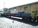 Trem especial de inauguração da torre do relógio de Paranapiacaba reformada pela MRS Logística